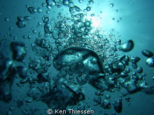 Sunshine, bubbles and clear water, just some of my favour... by Ken Thiessen